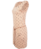 Ragwear Tag Dots Kleid Beige