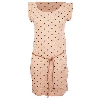 Ragwear Tag Dots Kleid Beige S