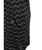 Ragwear Tag Chevron Kleid Black schwarz M