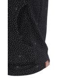 Ragwear Kenia Print Sweatjacke Damen Black schwarz