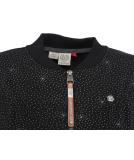 Ragwear Kenia Print Sweatjacke Damen Black schwarz XL