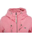 Ragwear Neska Zip Sweatjacke Damen Zipper Pink M