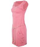 Ragwear Tag Kleid Pink