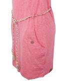 Ragwear Tag Kleid Pink M