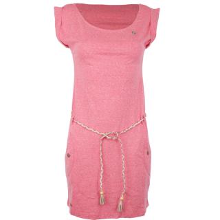 Ragwear Tag Kleid Pink XL