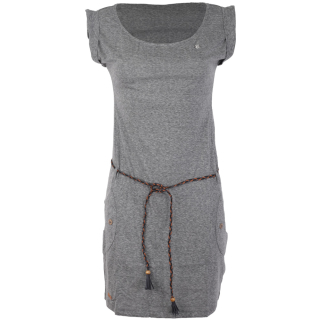 Ragwear Tag Kleid Dark Grey L