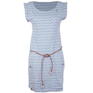 Ragwear Tag Chevron Kleid Blue XL