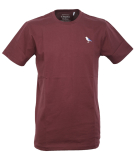 Cleptomanicx Embro Gull T-Shirt Port Royale