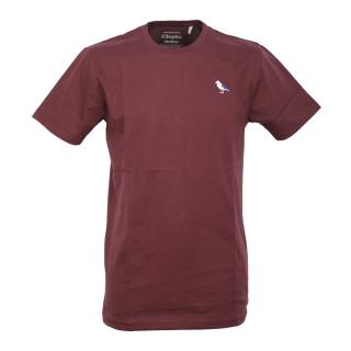 Cleptomanicx Embro Gull T-Shirt Port Royale XL