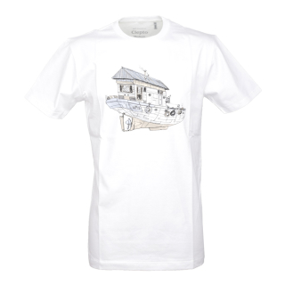 Cleptomanicx Dreamhome T-Shirt White