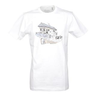 Cleptomanicx Dreamhome T-Shirt White S