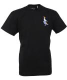 Cleptomanicx Bremen Gulls T-Shirt Black