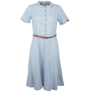 Ragwear Aluna Kleid Light Blue