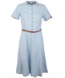 Ragwear Aluna Kleid Light Blue