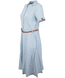 Ragwear Aluna Kleid Light Blue M