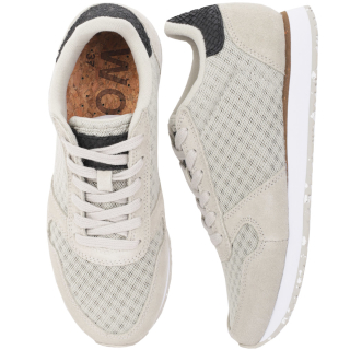 Woden Ydun Suede Mesh II Sneaker Damen Schuh Pelican 40