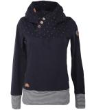Ragwear Lucie Sweatshirt Hoody Pullover Navy