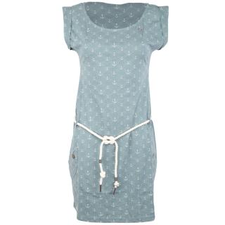 Ragwear Tag Marina Kleid Arctic Blue L