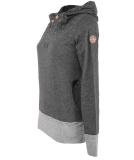 Ragwear Lucie Sweatshirt Hoody Pullover Dark Grey