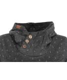 Ragwear Lucie Sweatshirt Hoody Pullover Dark Grey M