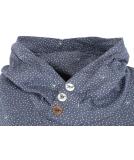 Ragwear Chelsea Dots Hoodie Damen Sweatshirt Indigo XL