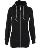 Ragwear Abbie Sweatjacke Damen Zipper Black