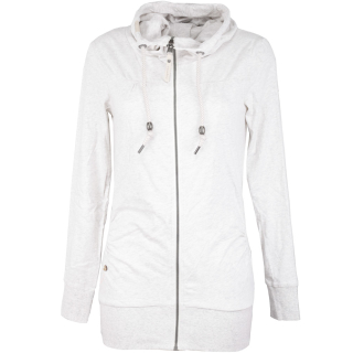 Ragwear Abbie Sweatjacke Damen Zipper White