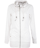 Ragwear Abbie Sweatjacke Damen Zipper White