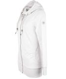 Ragwear Abbie Sweatjacke Damen Zipper White M