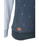 Ragwear Trega Sweatshirt Hoody Pullover Blue S