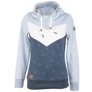 Ragwear Trega Sweatshirt Hoody Pullover Blue M