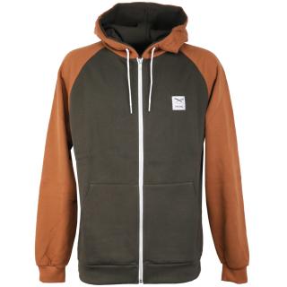 Iriedaily De College 2 Zip Hood Zipper Night Olive XL
