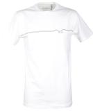 Cleptomanicx Möwe Pufflines T-Shirt White