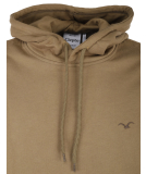Cleptomanicx Doust Hooded Herren Pullover Mud Olive S