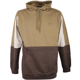 Cleptomanicx Doust Hooded Herren Pullover Mud Olive L