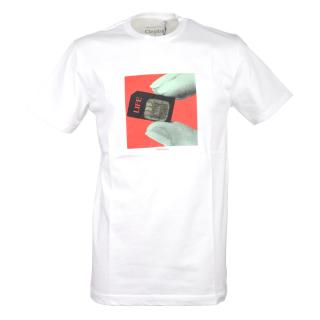 Cleptomanicx Life T-Shirt White L