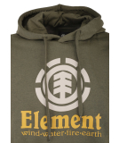 Element Vertical Hood Pullover Army XL