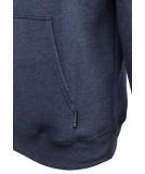 Iriedaily Mini Flag 2 Hooded Sweater Indigo Mel L