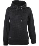 Ragwear Nuggie Sweat Damen Kapuzenpullover Black XL