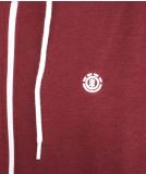 Element Cornell Classic Zip Sweatjacke Vintage Red S