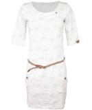 Ragwear Tanya Flowers Kleid White