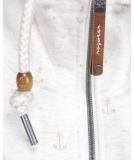 Ragwear Rylie Marina Zip Sweatjacke Beige XL