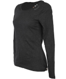 Ragwear Florah Long A Organic Langarmshirt Dark Grey S