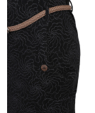 Ragwear Tanya Flowers Kleid Black M