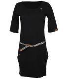Ragwear Tanya Solid Kleid Black