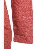 Ragwear River Kleid Chili Red L