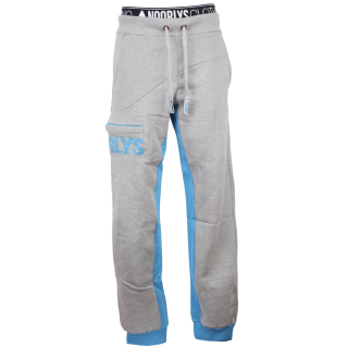 Noorlys Sundag Pant Uni Jogginghose Ash Encyan L