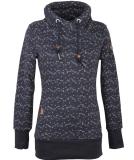Ragwear Neska Print Damen Sweatshirt Navy