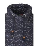 Ragwear Neska Print Damen Sweatshirt Navy L