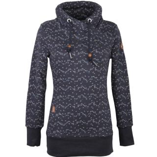 Ragwear Neska Print Damen Sweatshirt Navy XL
